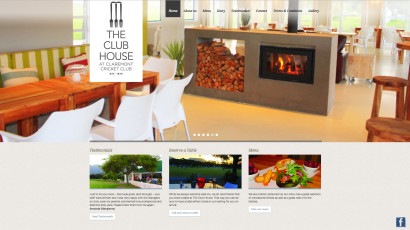 The Club House Website