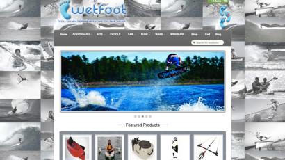 Wetfoot Website