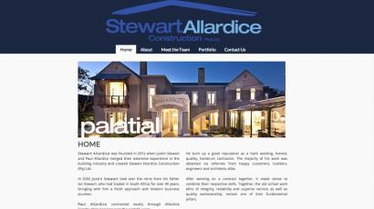 Stewart Allardice Website