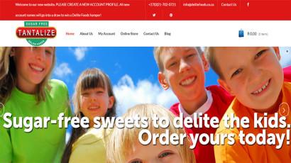 Delite Foods website