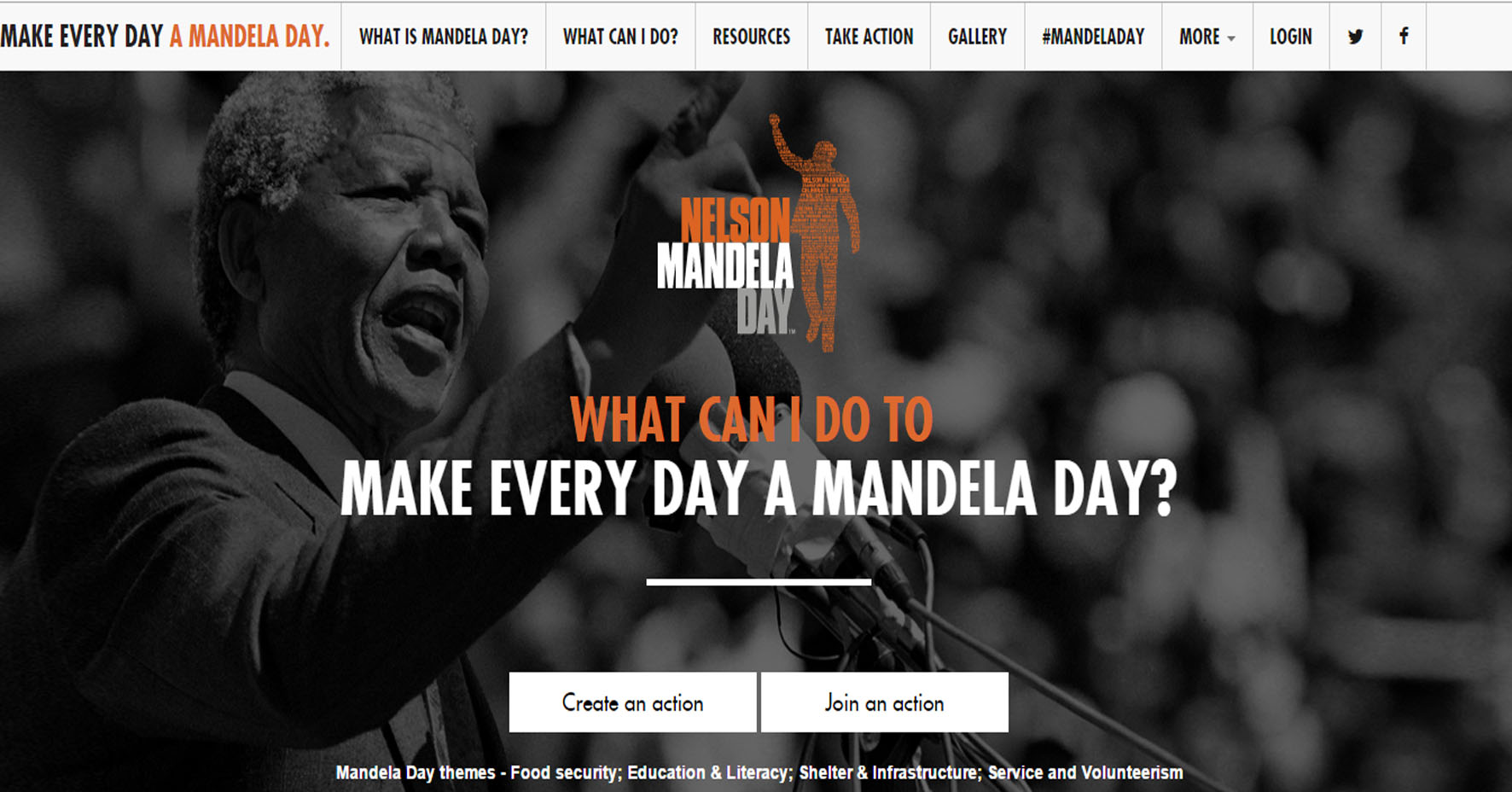 Social Media Inspires Social Change: What Would Madiba Do? #TIME2SERVE #67.