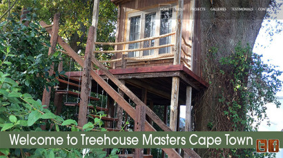 Tree House Masters website